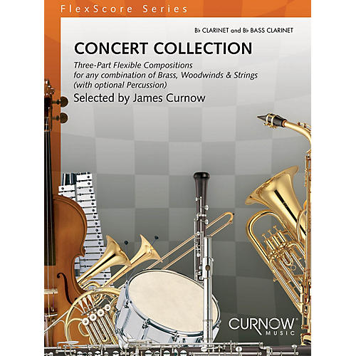 Curnow Music Concert Collection (Grade 1.5) (Bb Clarinet and Bb Bass Clarinet) Concert Band Level 1.5 by Various-thumbnail