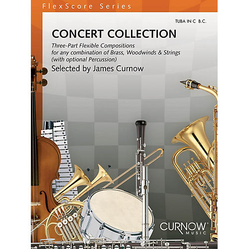 Curnow Music Concert Collection (Grade 1.5) (Tuba in C (B.C.)) Concert Band Level 1.5 Composed by Various-thumbnail