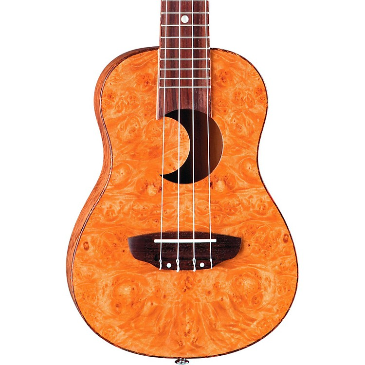 Luna GuitarsConcert Exotic UkuleleMaple Burl