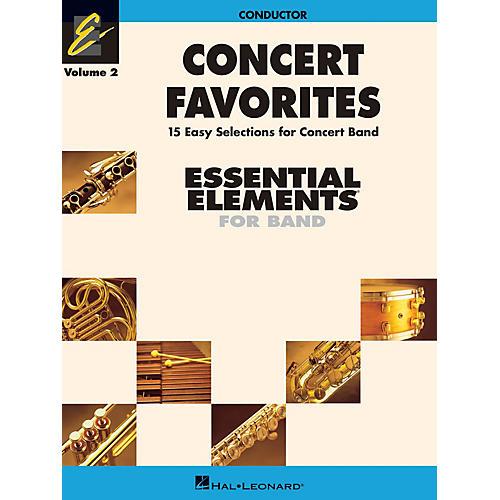 Hal Leonard Concert Favorites Vol. 2 - Value Pak Concert Band Level 1-1.5 Arranged by Michael Sweeney-thumbnail