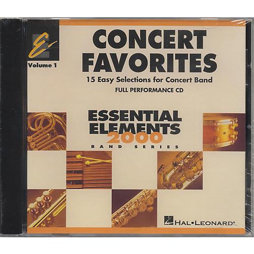 Hal Leonard Concert Favorites Vol1 - CD