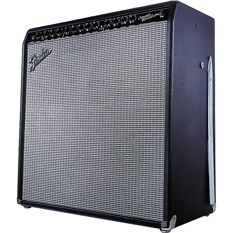 Fender Concert Reverb 50-Watt All-Tube Amp with 4x10