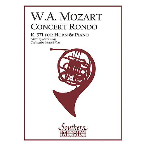 Southern Concert Rondo, K371 (in F) (Horn) Southern Music Series Arranged by Max Pottag & Hoss-thumbnail