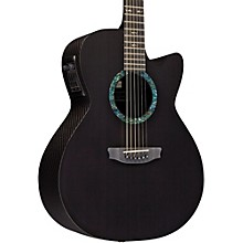 RainSong Concert Series CO-WS1000N2 Graphite Acoustic-Electric Guitar Carbon
