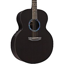 RainSong Concert Series Jumbo Acoustic-Electric Guitar Graphite