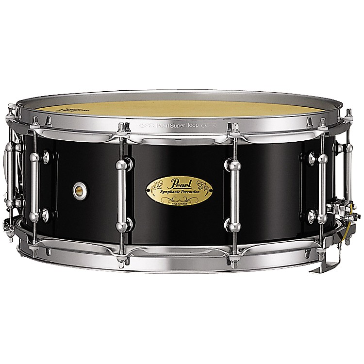 Pearl Concert Series Snare Drum 14X5.5 Inch Piano Black