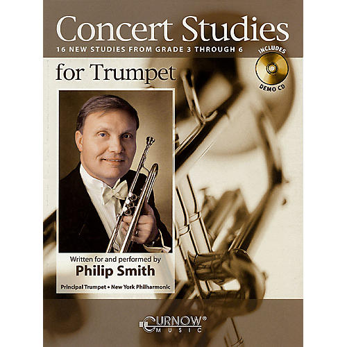 Curnow Music Concert Studies for Trumpet (Grade 3-6) Concert Band Level 3-6 performed by Philip Smith-thumbnail