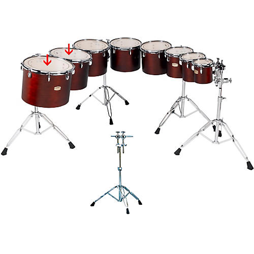 Yamaha Concert Tom Set with WS860A Stand-thumbnail