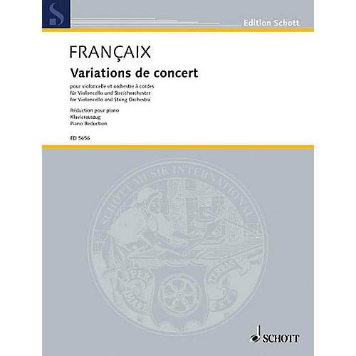 Schott Concert Variations Schott Series-thumbnail