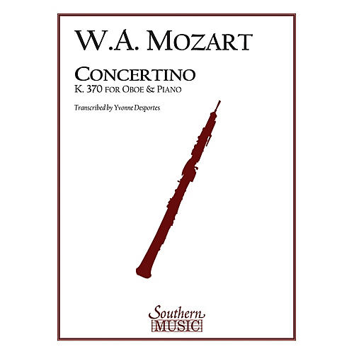 Southern Concertino, K370 Southern Music Series by Wolfgang Amadeus Mozart Arranged by Yvonne Desportes-thumbnail