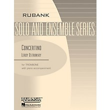 Rubank Publications Concertino (Trombone Solo with Piano - Grade 5) Rubank Solo/Ensemble Sheet Series