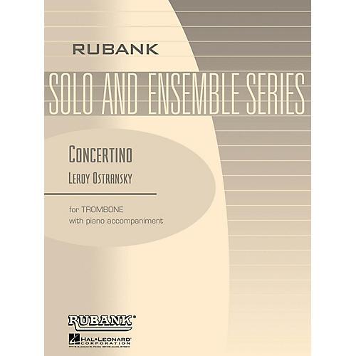 Rubank Publications Concertino (Trombone Solo with Piano - Grade 5) Rubank Solo/Ensemble Sheet Series-thumbnail