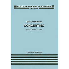 Wilhelm Hansen Concertino for String Quartet Music Sales America Series Composed by Igor Stravinsky