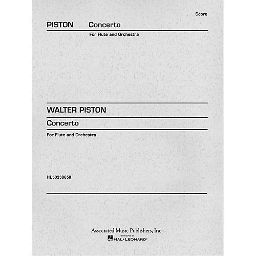 Associated Concerto (1971) (Miniature Full Score) Study Score Series Composed by Walter Piston-thumbnail