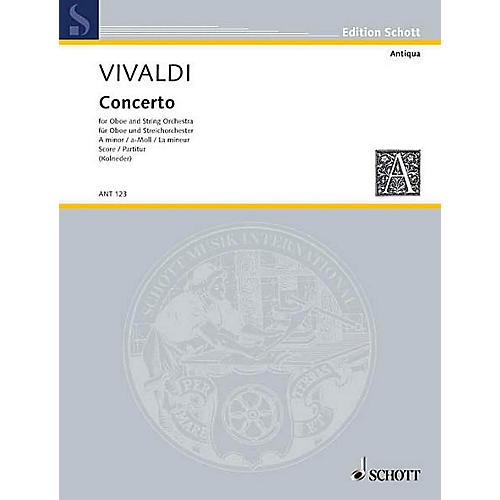 Schott Concerto A Minor RV 461/PV 42 (Score) Schott Series by Antonio Vivaldi-thumbnail