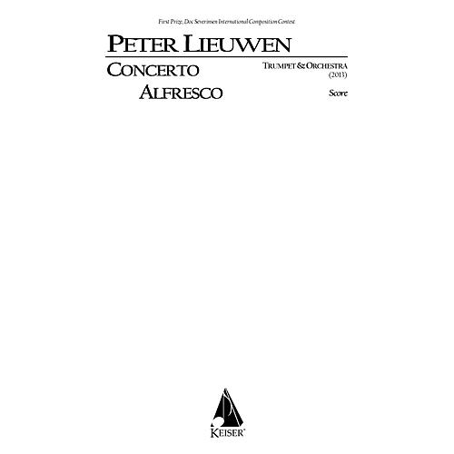 Lauren Keiser Music Publishing Concerto Alfresco for Trumpet and Chamber Orchestra, Full Score LKM Music Series by Peter Lieuwen-thumbnail