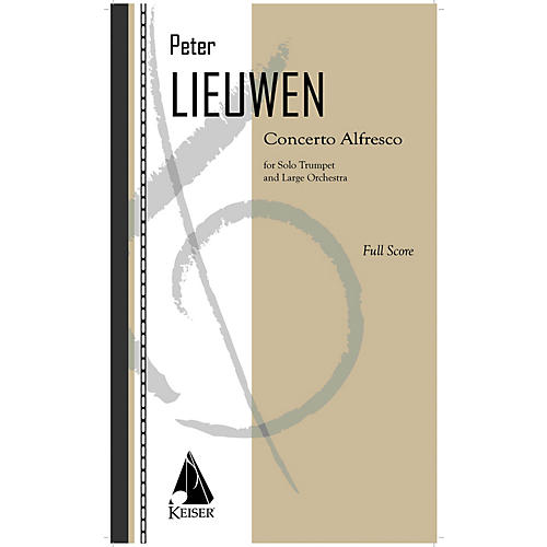 Lauren Keiser Music Publishing Concerto Alfresco for Trumpet and Large Orchestra - Full Score LKM Music Softcover by Peter Lieuwen-thumbnail