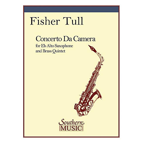 Southern Concerto Da Camera (Brass Quintet with Alto Sax) Southern Music Series by Fisher Tull-thumbnail