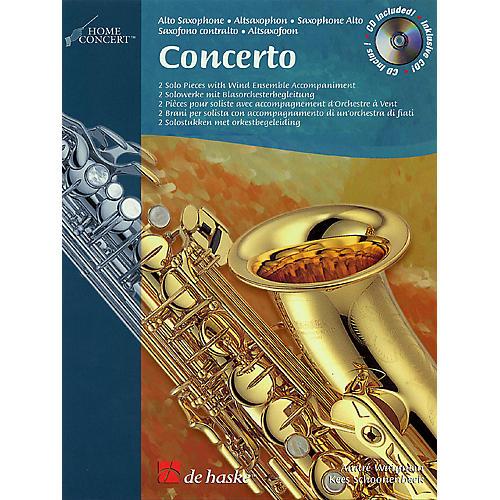 De Haske Music Concerto De Haske Play-Along Book Series-thumbnail
