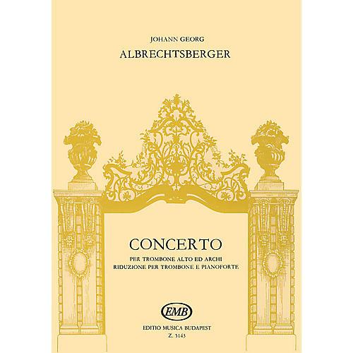 Editio Musica Budapest Concerto EMB Series by Johann Georg Albrechtsberger-thumbnail