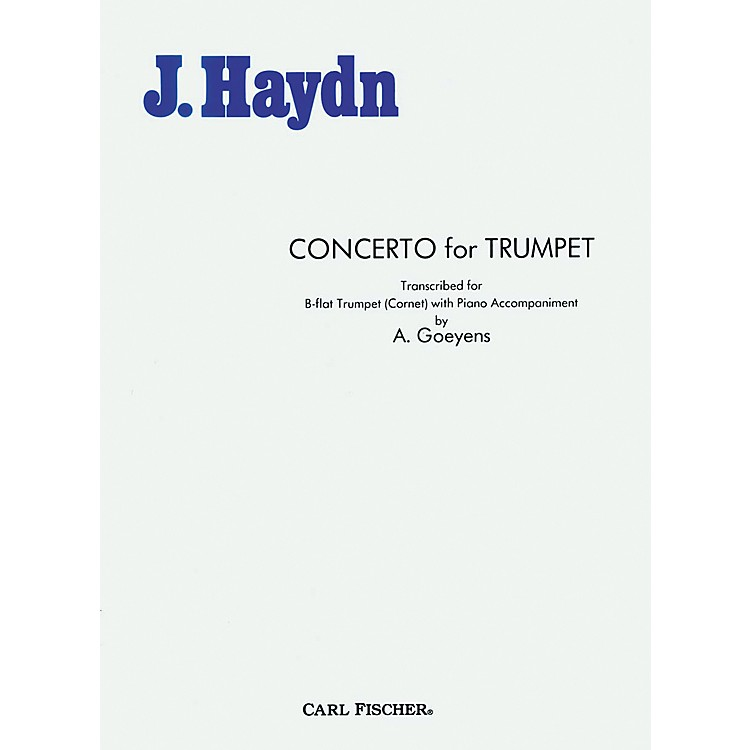 Carl Fischer Concerto For Trumpet