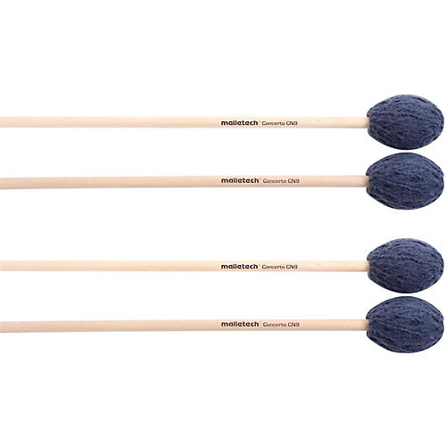 Malletech Concerto Marimba Mallets Set of 4 (2 Matched Pairs)