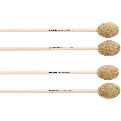 Malletech Concerto Marimba Mallets Set of 4 (2 Matched Pairs)-thumbnail