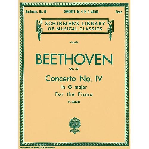 G. Schirmer Concerto No 4 In G Major Op 58 2 Pianos 4 Hands By Beethoven