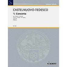 Schott Concerto No. 1 in D (Full Score) Schott Series Composed by Mario Castelnuovo-Tedesco