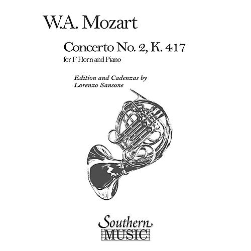 Southern Concerto No. 2, K417 (Horn) Southern Music Series Arranged by Lorenzo Sansone-thumbnail