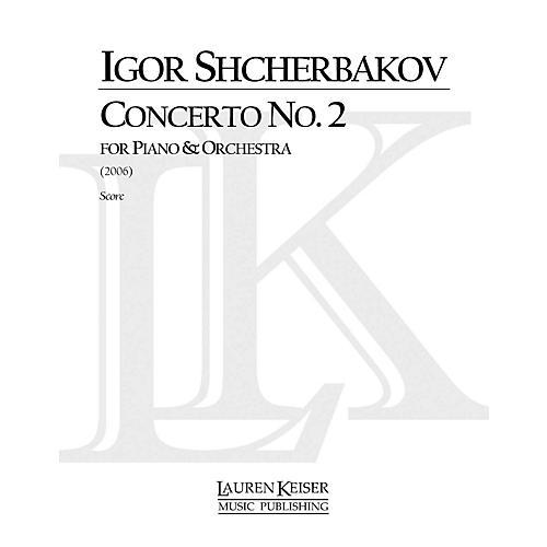 Lauren Keiser Music Publishing Concerto No. 2 for Piano and Orchestra, Full Score LKM Music Series by Igor Shcherbakov-thumbnail