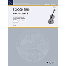 Schott Concerto No. 3 in G Major (Cello and Basso Continuo) Schott Series