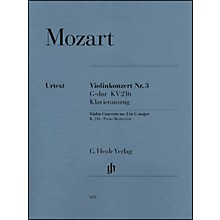 G. Henle Verlag Concerto No. 3 in G Major K216 By Mozart