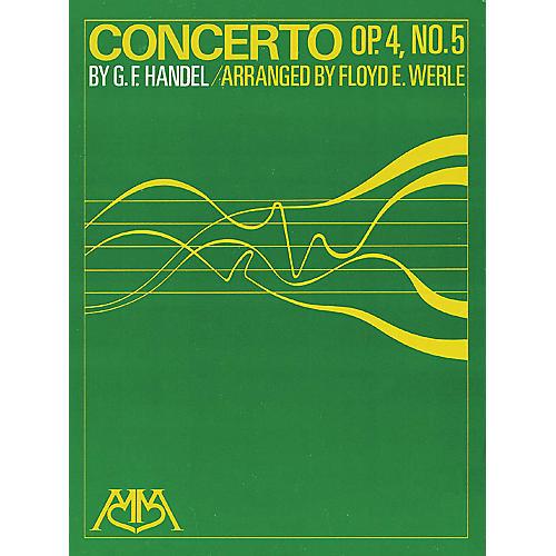 Hal Leonard Concerto Op. 4, No. 5 Concert Band Arranged by Floyd E. Werle-thumbnail