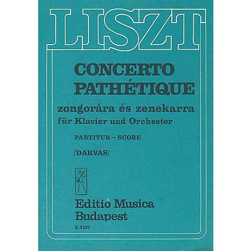 Editio Musica Budapest Concerto Pathetique For Piano And Orchestra Score EMB Series-thumbnail