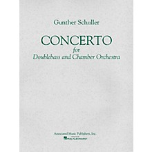 Associated Concerto (Score and Parts) String Solo Series Composed by Gunther Schuller