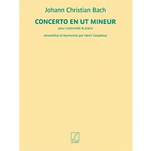 Salabert Concerto en ut mineur (for Cello and Piano) Salabert Series Softcover Composed by Johann Christian Bach