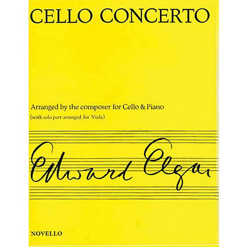 Novello Concerto for Cello Op. 85 (Arranged for Viola & Piano) Music Sales America Series