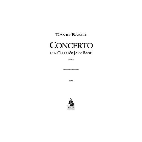 Lauren Keiser Music Publishing Concerto for Cello and Jazz Band LKM Music Series Composed by David Baker-thumbnail