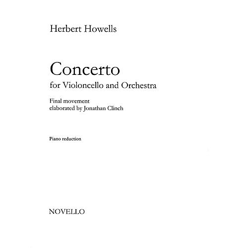 Novello Concerto for Cello and Orchestra Music Sales America Series Softcover-thumbnail