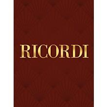 Ricordi Concerto for Clarinet Solo (Carte fiorentine No. 2) Woodwind Series by Valentino Bucchi