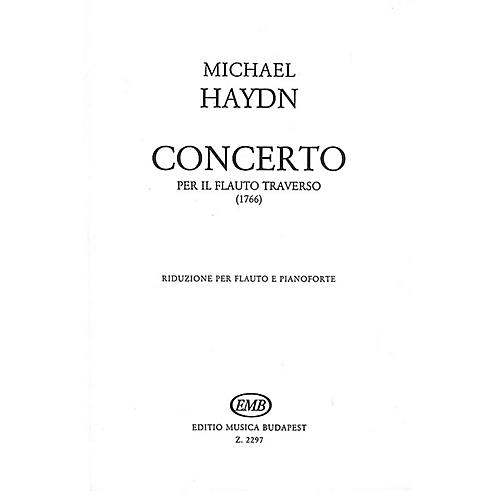 Editio Musica Budapest Concerto for Flute EMB Series by Michael Haydn-thumbnail