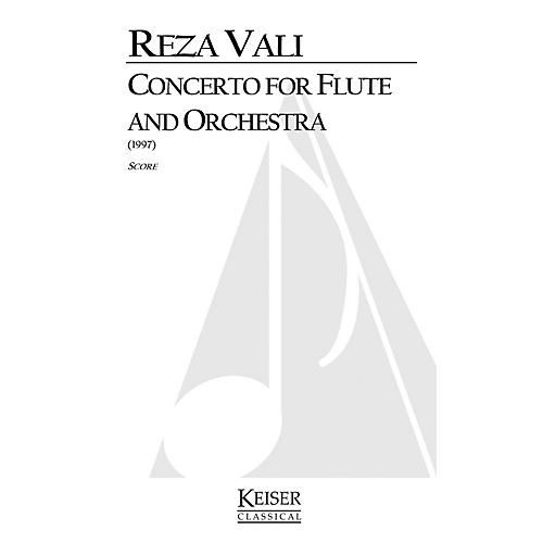 Lauren Keiser Music Publishing Concerto for Flute and Orchestra LKM Music Series Composed by Reza Vali-thumbnail