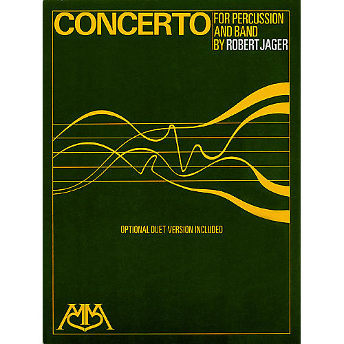 Meredith Music Concerto (for Percussion and Band) Meredith Music Resource Series Composed by Robert Jager-thumbnail