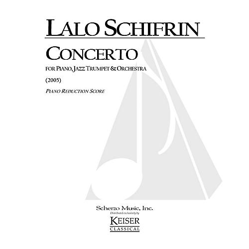 Lauren Keiser Music Publishing Concerto for Piano, Jazz Trumpet and Orchestra (Piano Reduction Score) LKM Music Series by Lalo Schifrin-thumbnail