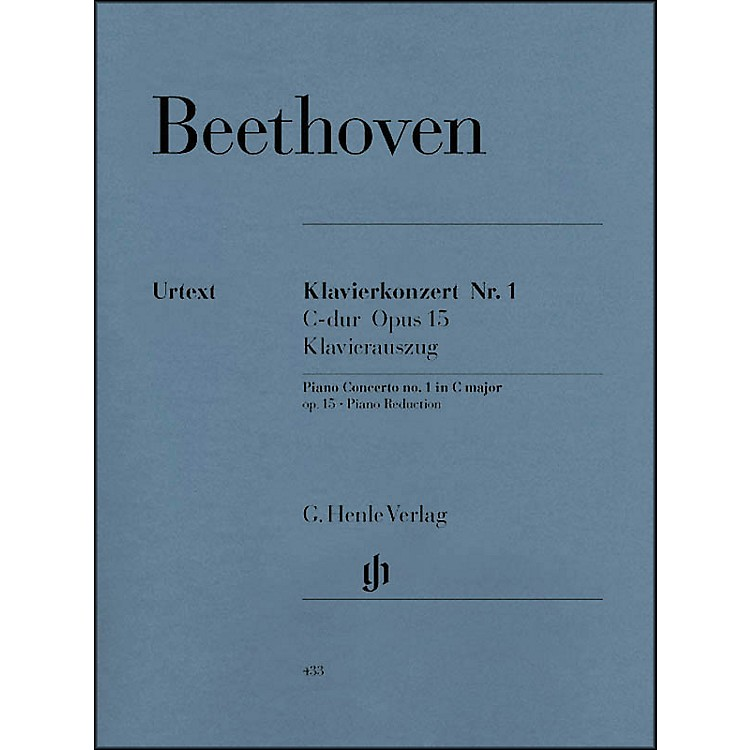 G. Henle VerlagConcerto for Piano and Orchestra C Major Op. 15, No. 1 By Beethoven