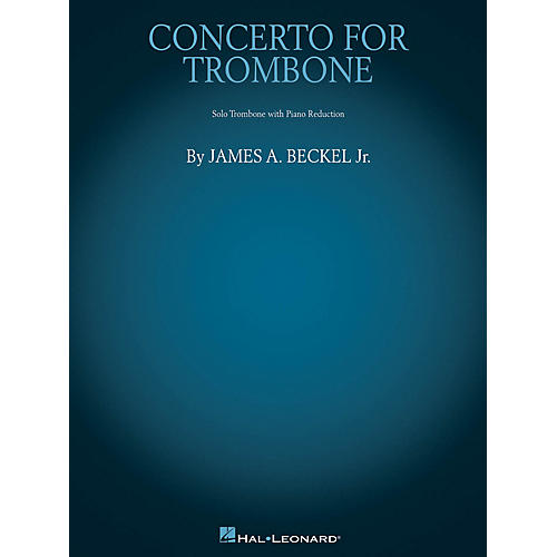 Hal Leonard Concerto for Trombone (Trombone with Piano Reduction) Brass Solo Series Softcover-thumbnail