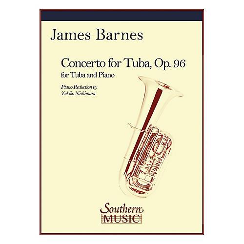Southern Concerto for Tuba (Tuba) Southern Music Series Arranged by Yukiko Nishimura-thumbnail
