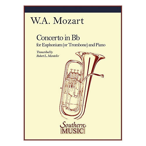 Southern Concerto in B-Flat, K191 Southern Music Composed by Wolfgang Amadeus Mozart Arranged by Robert Marsteller-thumbnail