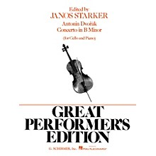 G. Schirmer Concerto in B Minor (Score and Parts) String Solo Series Composed by Antonín Dvorák Edited by J Starker